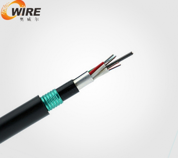 Non - armoured non - armoured optical cable of layer stranded non metal reinforcing core