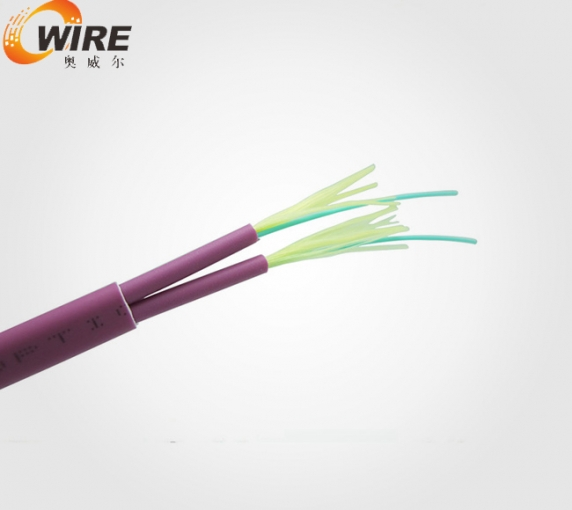 flat twin fiber cable