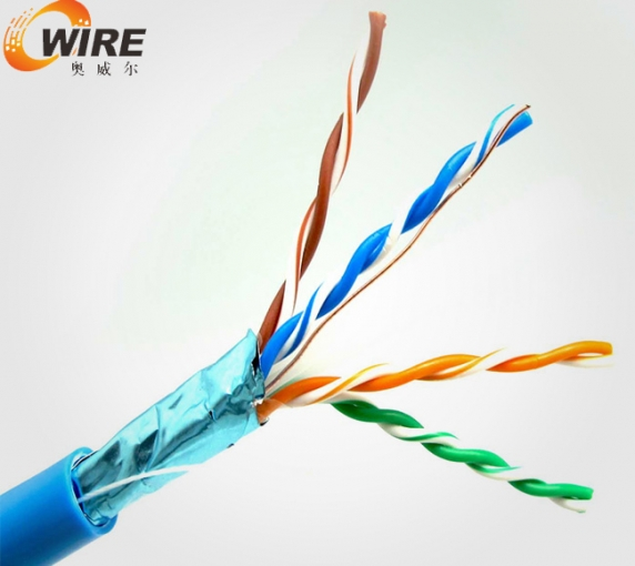 Cat5e single shielded network