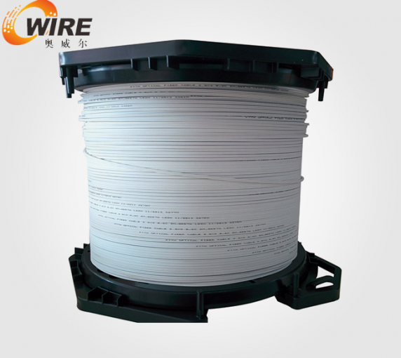 Self bearing type double core rubber insulated wire cable