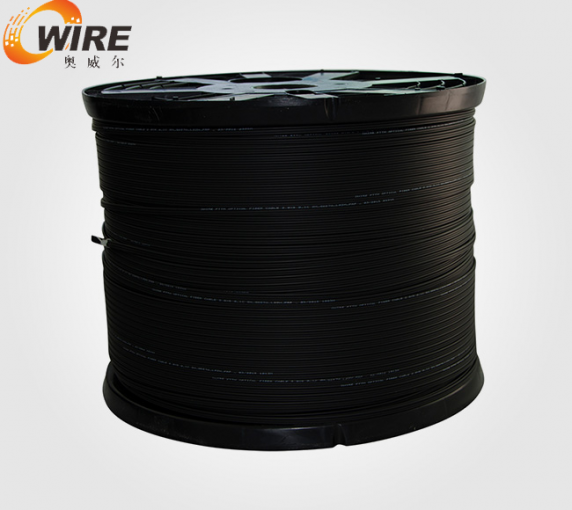 Self bearing type single core cable line